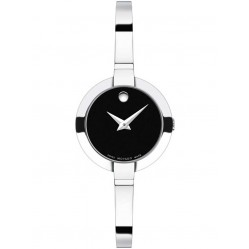 Movado Ladies Bela Black Watch 0606595