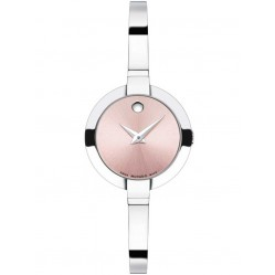 Movado Ladies Bela Pink Watch 0606596