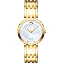 Movado Ladies Esperanza Mother Of Pearl Watch 0607054