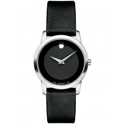 Movado Ladies Museum Black Watch 0606503