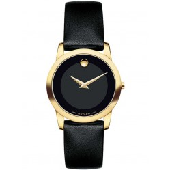 Movado Ladies Museum Gold Watch 0606877