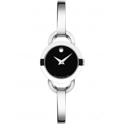 Movado Ladies Rondiro Black Watch 0606796