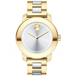 Movado Ladies Bold Gold Watch 3600129