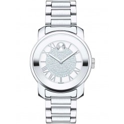 Movado Ladies Bold Silver Watch 3600254