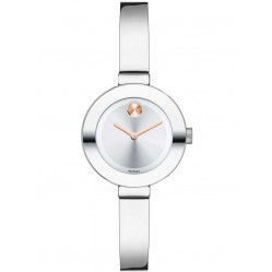 Movado Ladies Bold Silver Watch 3600284