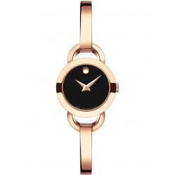 Movado Ladies Rondiro Black Watch 0607065
