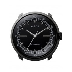 Wena Wrist Automatic Three Hands Black Watch Head WNWHTM01BB.AE