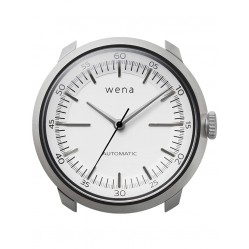 Wena Wrist Automatic Three Hands White Watch Head WNWHTM01BW.AE