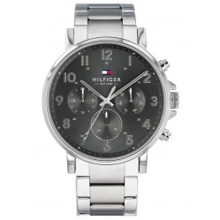Tommy Hilfiger Daniel Grey Chronograph Dial Bracelet Watch 1710382