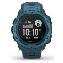 Garmin Instinct Lakeside Blue Rubber Strap Smartwatch 010-02064-04