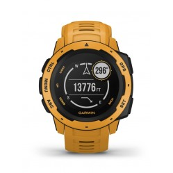 Garmin Instinct Sunburst Yellow Rubber Strap Smartwatch 010-02064-03