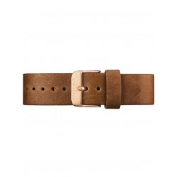 ROSEFIELD Brown Leather Tribeca Watch Strap TCCBRR-S131