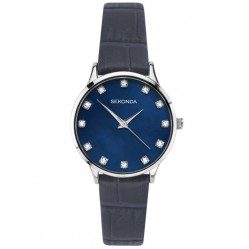 Sekonda Ladies Blue Strap Watch 2959