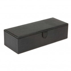 Wolf Blake 5 Piece Black Watch Box 305558