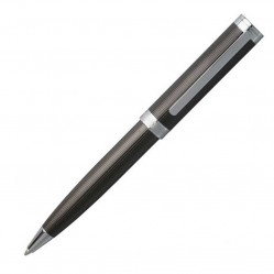 Hugo Boss Column Dark Chrome Ballpoint Pen HSW6514