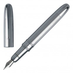 Hugo Boss Stripe Chrome Fountain Pen HSH6622B