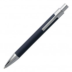 Hugo Boss Saffiano Blue Ballpoint Pen HSP6954N