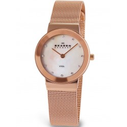 Skagen Ladies Mesh Bracelet Watch 358SRRD