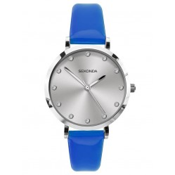 Sekonda Ladies Neon Blue Strap Watch 40013