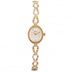 Pre-Owned Geneve Ladies 9ct Yellow Gold Watch 4118068