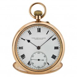 Pre-Owned Wray Son and Perry 9ct Yellow Gold Pocket Watch 4118080
