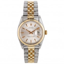 Pre-Owned Rolex Mens Oyster Perpetual Datejust Watch 4118100