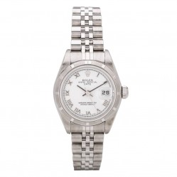 Pre-Owned Rolex Ladies Oyster Perpetual Date Watch 4118184