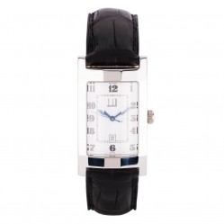 Pre-Owned Dunhill Leather Strap Watch 4118196