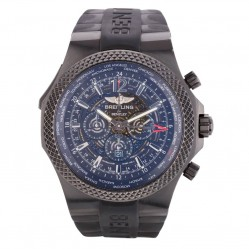 Pre-Owned Breitling for Bentley Mens Midnight Carbon Watch 4118204