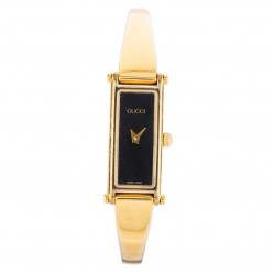Pre-Owned Gucci Ladies Gold Plated Bangle Watch 4118205
