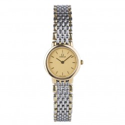 Pre-Owned Omega Ladies De Ville Two Tone Watch 4181853