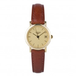 Pre-Owned Longines Ladies 18ct Gold Watch 4181860