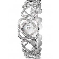 Sekonda Ladies Crystal Hearts Bracelet Watch 4109