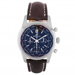 Pre-Owned Breitling Mens Transocean Unitime Watch AB0510U6/BC26 442X
