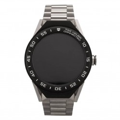 Pre-Owned TAG Heuer Connected Modular 45 Ceramic Bezel Titanium Bracelet Smartwatch SBF8A8001.10BF0608