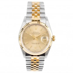Pre-Owned Rolex Mens Oyster Perpetual Datejust Watch 16233-7371