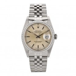Pre-Owned Rolex Mens Oyster Perpetual Datejust Watch 16220-7401
