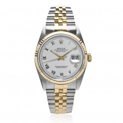 Pre-Owned Rolex Mens Oyster Perpetual Datejust Watch 16233-8060