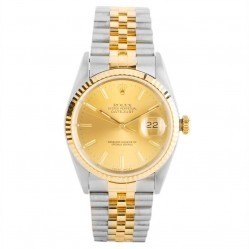 Pre-Owned Rolex Mens Oyster Perpetual Datejust Watch 16233-7656