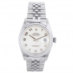 Pre-Owned Rolex Mens Osyer Perpetual Datejust Watch 16220-8226