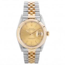 Pre-Owned Rolex Mens Oyster Perpetual Datejust Watch 16233-8266