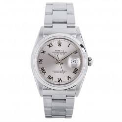 Pre-Owned Rolex Mens Oyster Perpetual Datejust Watch 16200-8263