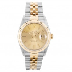 Pre-Owned Rolex Mens Oyster Perpetual Datejust Watch 16233-8333