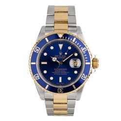Pre-Owned Rolex Mens Submariner Bracelet Watch 16613-BQ32674