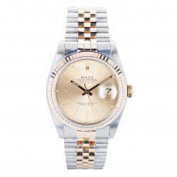 Pre-Owned Rolex Mens Oyster Perpetual Datejust Watch 16233-8496