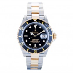 Pre-Owned Rolex Mens Oyster Perpetual Submariner Watch 16613-6152