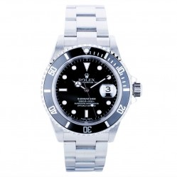 Pre-Owned Rolex Mens Oyster Perpetual Submariner Watch 16610-6154