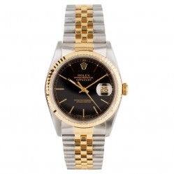 Pre-Owned Rolex Mens Oyster Perpetual Datejust Watch 16233-9321