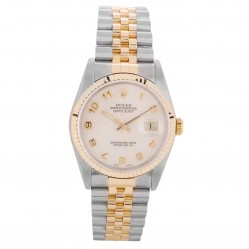 Pre-Owned Rolex Mens Oyster Perpetual Datejust Watch 16233-BQ34013