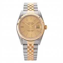 Pre-Owned Rolex Mens Oyster Perpetual Datejust Watch 16233-10524